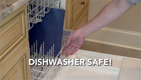 Dishwasher Safe!